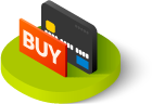 pay monthly ecommerce website design icon