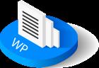 wordpress website design icon
