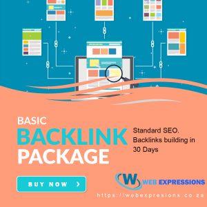 basic bvacklink building package