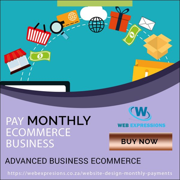 ecommerce pay monthly business package