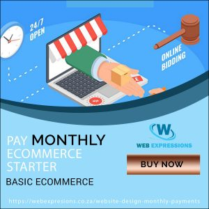 ecommerce monthly starter package