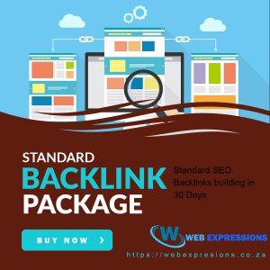 standard backlink building package