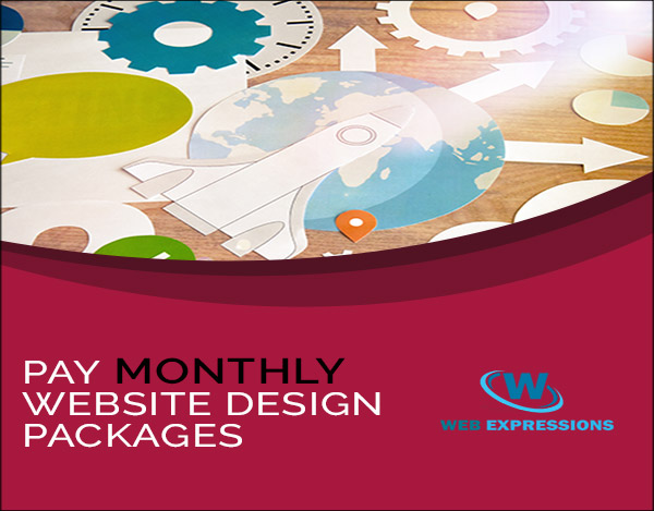 Pay Monthly Website Design Package
