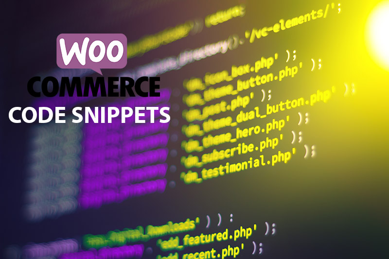20 Useful Woocommerce Snippets for WordPress Ecommerce