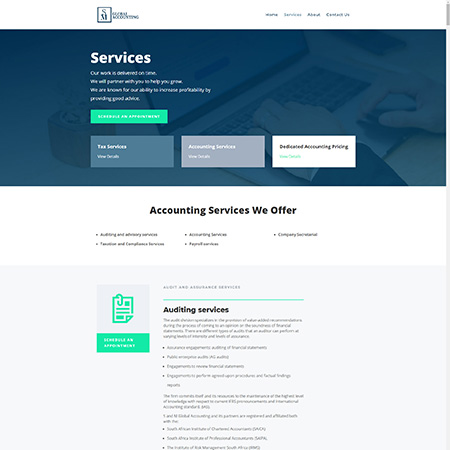 sm global accounting services page