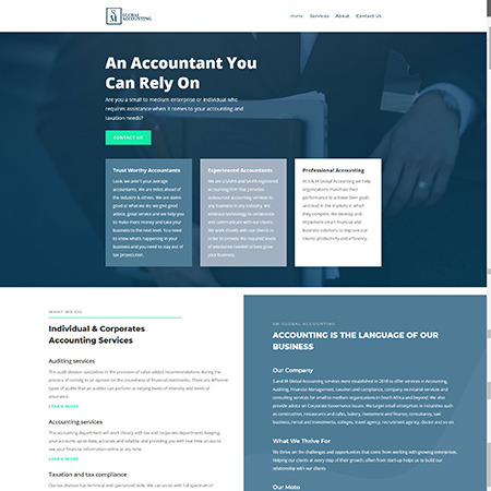 sm global accounting home page