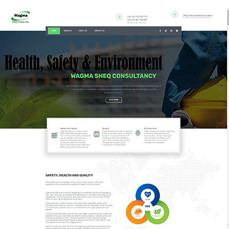 wagma sheq consulting home page