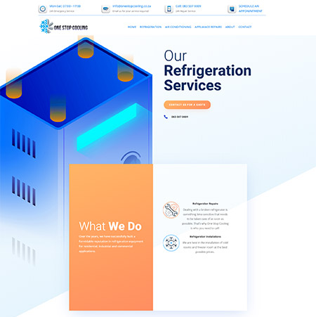 REFRIGERATION One Stop Cooling